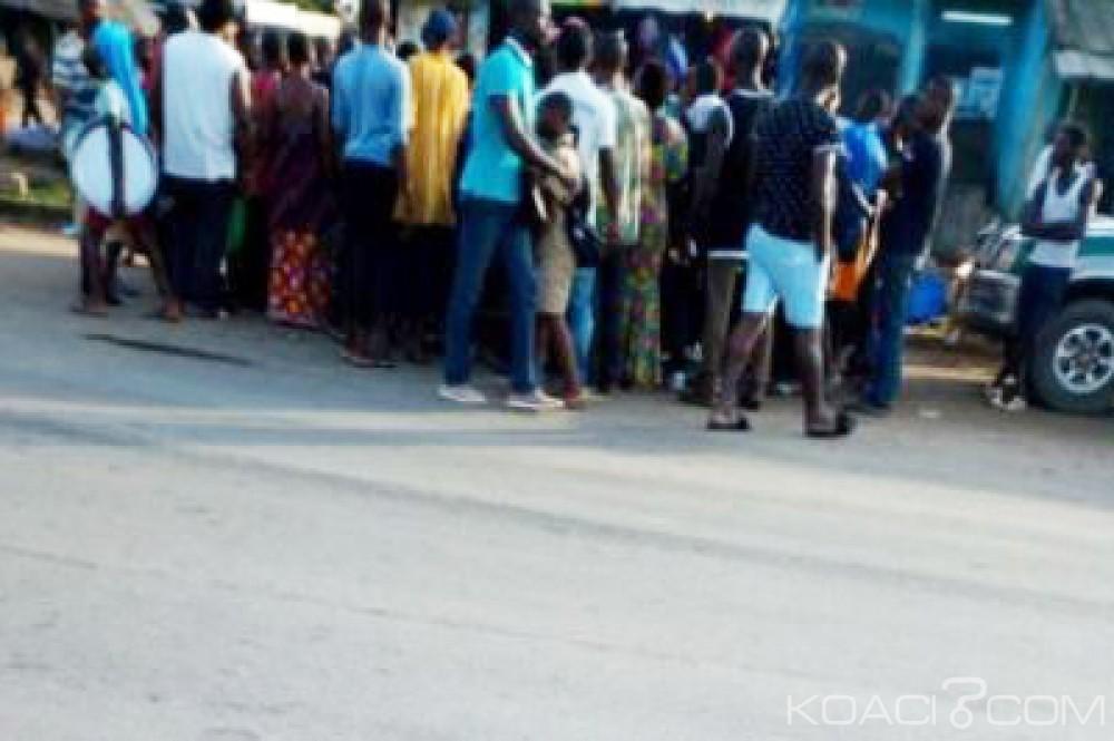 Côte d'Ivoire: Yopougon, un agresseur au couteau bastonné et remis à la police