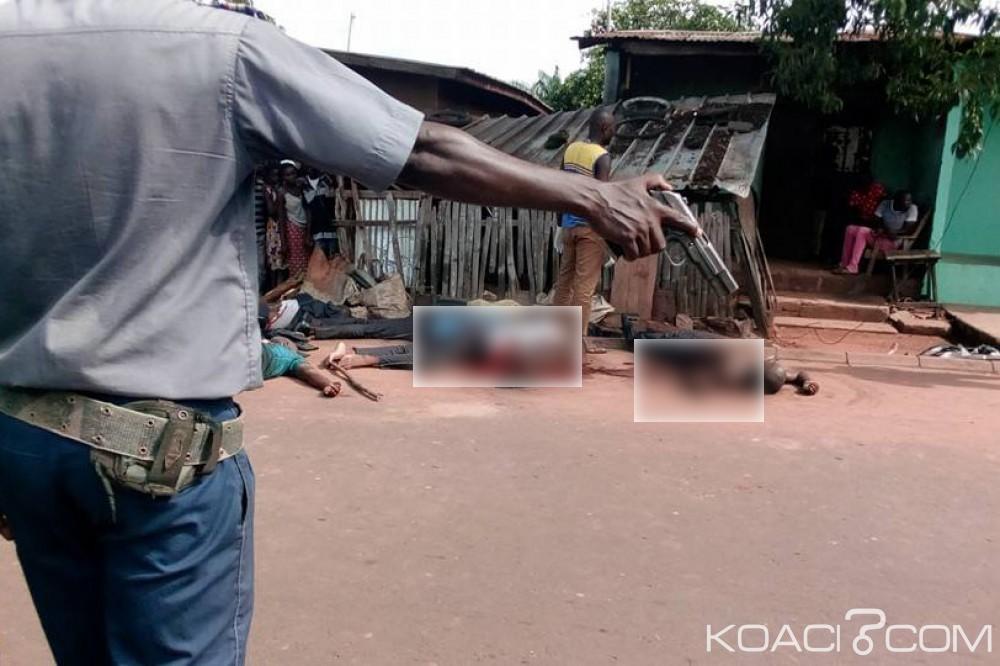 Côte d'Ivoire: La piste de «l'accident» privilégiée à Arrah, un gendarme aurait été pris de panique avant d'ouvrir le feu