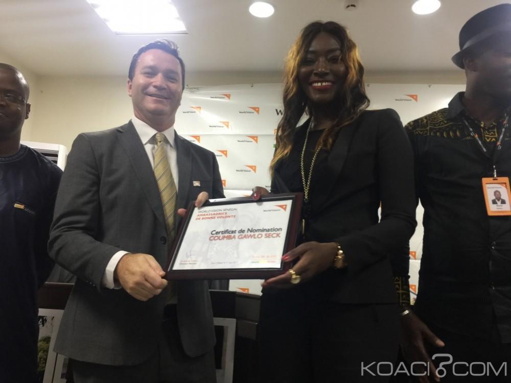 Sénégal: La diva Coumba Gawlo Seck, ambassadrice de bonne volonté de «World Vision»