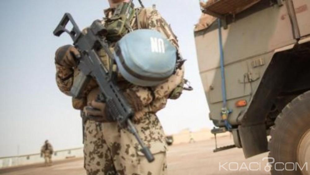 Centrafrique:  Embuscade contre des casques bleus mauritaniens  à Mobaye,  sept blessés
