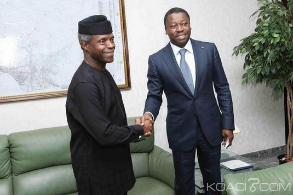 Cedeao: Le Nigeria assure son soutien à Faure Gnassingbé