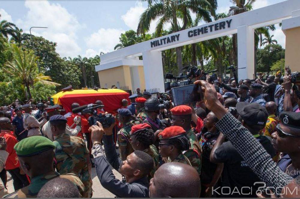 Ghana: Hommages et inhumation du Major Mahama à Accra