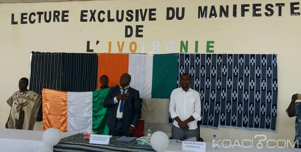 Côte d'Ivoire: Toh Bi Emmanuel conseille «L'Ivoironie» pour l'émergence de la Côte d'Ivoire