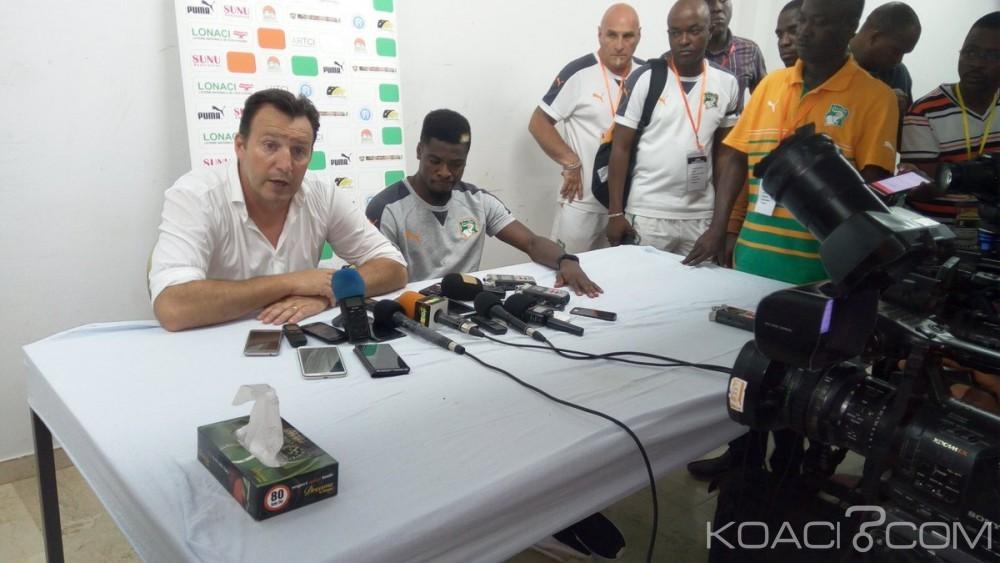 Côte d'Ivoire:  Début compliqué pour Marc Wilmots avec les Éléphants battus par la Guinée Conakry, en éliminatoires de la CAN 2019 (2-3)
