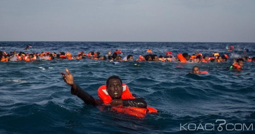 Libye: 10  cadavres de migrants retrouvés après un naufrage au large
