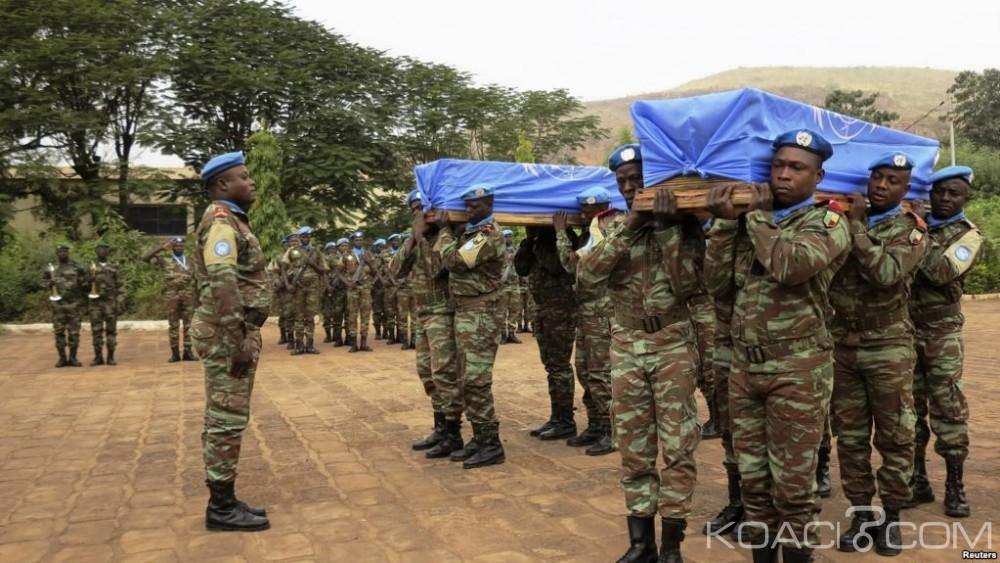 Mali:  Porté disparu,  un quatrième casque bleu  guinéen retrouvé mort après l'attaque de Kidal
