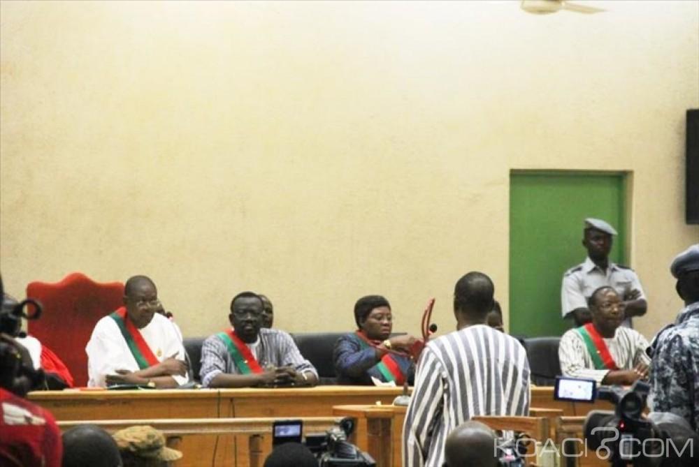 Burkina Faso: Le conseil constitutionnel confirme l'inconstitutionnalité des textes de la Haute cour devant juger le dernier gouvernement Compaoré