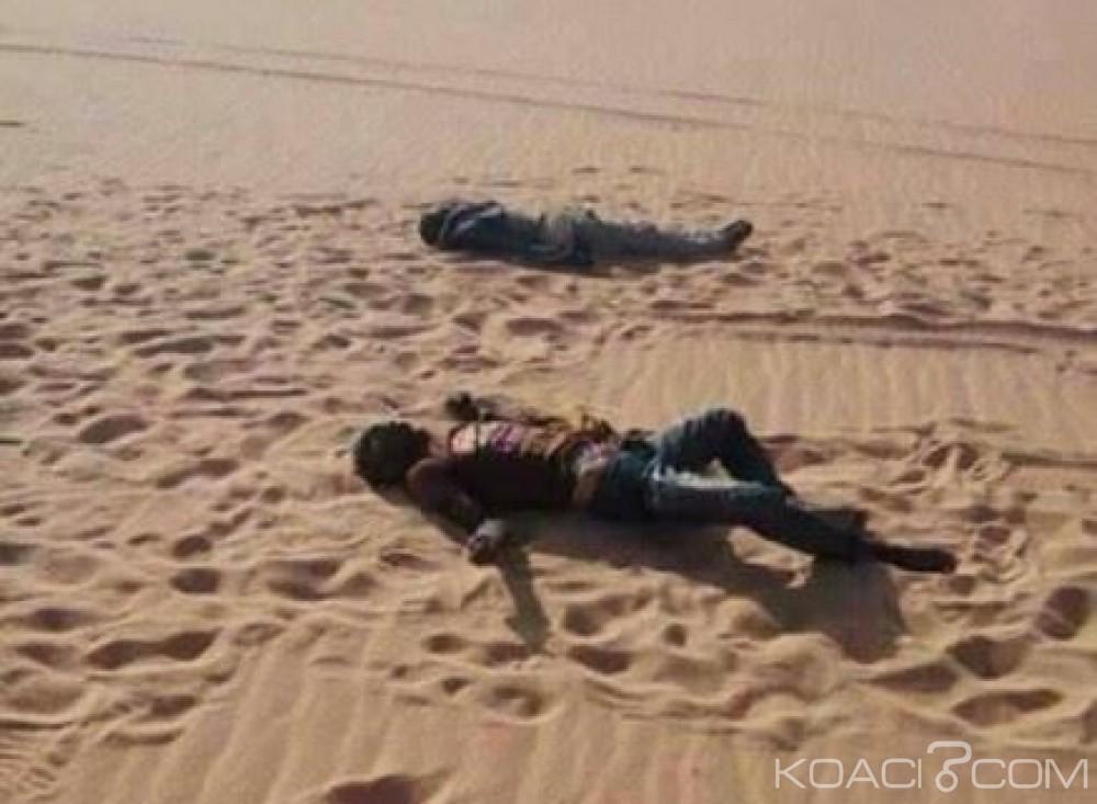 Niger: L'armée sauve une centaine de migrants africains  abandonnés en plein désert