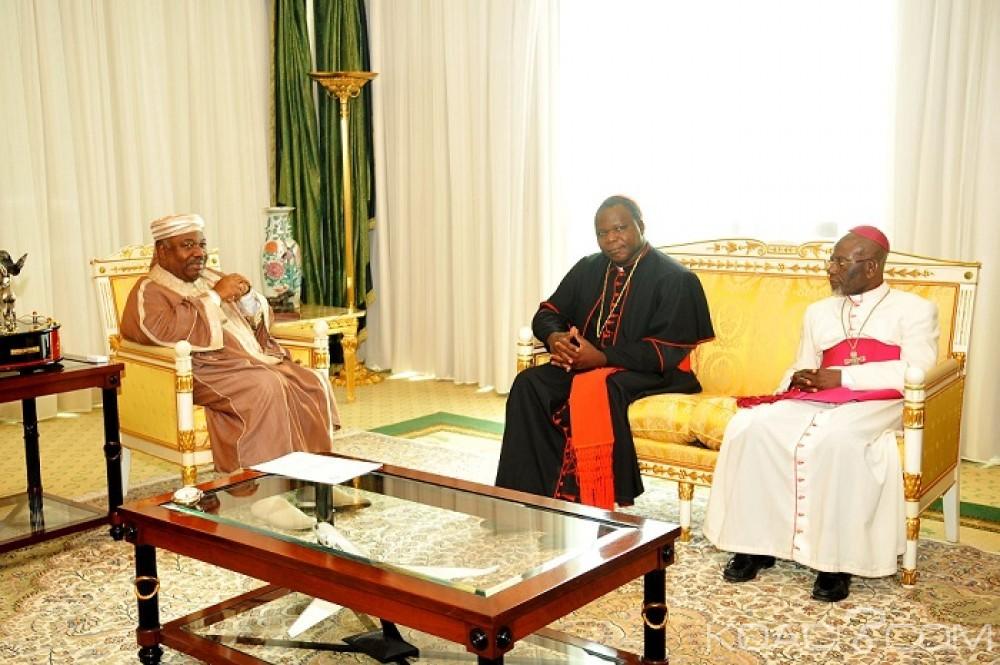Gabon-Centrafrique: A Libreville, l'archevêque de Bangui salue l'implication du Gabon pour la paix en RCA