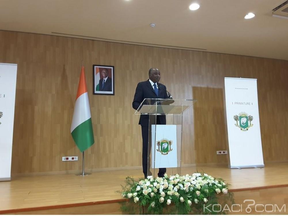 Côte d'Ivoire : Amadou Gon rassure les mutins qu'ils auront leurs deux millions restants à la fin de ce mois