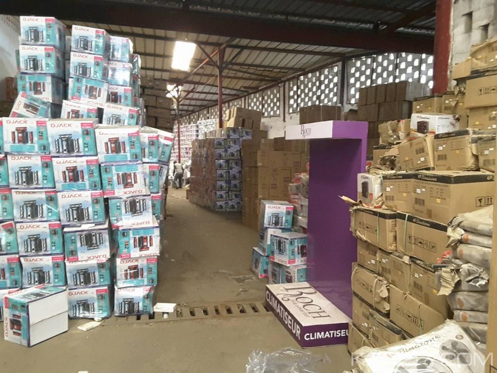 Côte d'Ivoire: Abidjan, les Douanes font une découverte d'un entrepôt contenant un important lots de marchandises non couverts par des déclarations dont la sardine