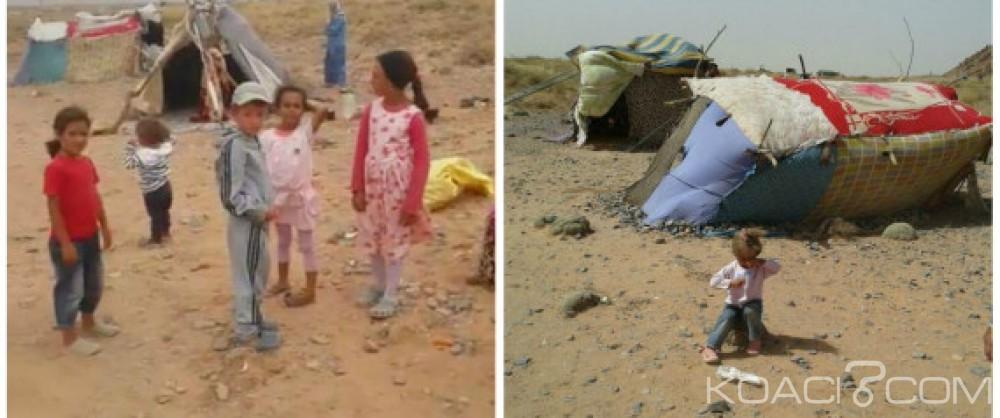 Koacinaute: Le Roi du Maroc met fin à la souffrance des familles syriennes bloquées en Algérie, près de la ville marocaine de Figuig