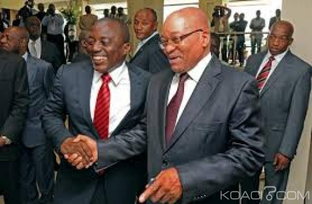 RDC-Afrique du Sud: Joseph Kabila  à Pretoria pour une visite officielle