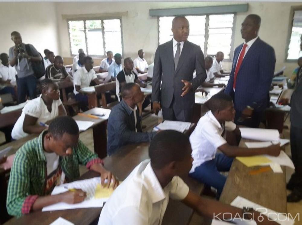Côte d'Ivoire: Enseignement Technique et Professionnel, démarrage effectif des épreuves écrites des examens de fin d'année