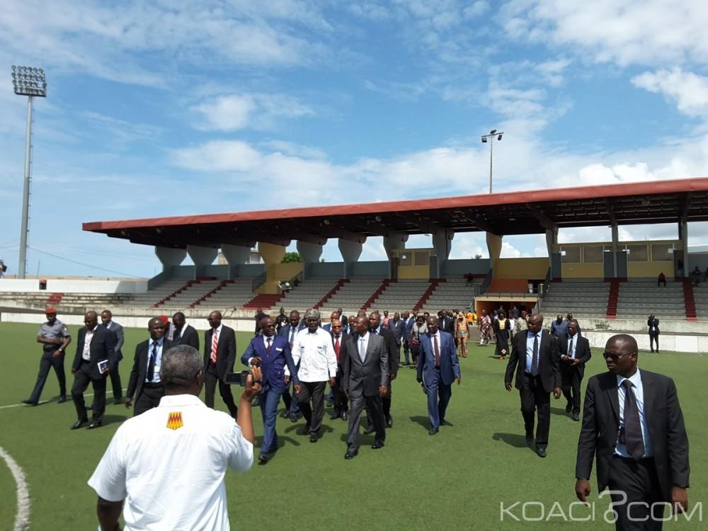 Côte d'Ivoire: Jeux de la Francophonie à Abidjan, Daniel Kablan Duncan satisfait des travaux à l'INJS (95 %) et des autres sites (100%)