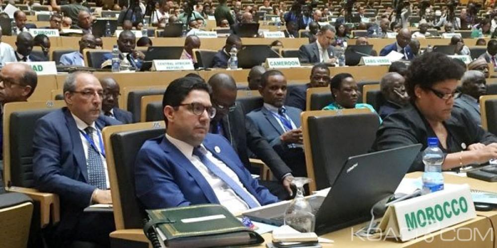 Koacinaute:  Réunion du Conseil Exécutif de l'Union Africaine (U.A) à Addis Abeba : les compères algéro-polisariens font leur cirque