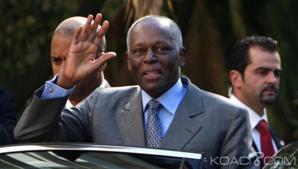 Angola:  A peine rentré, José Eduardo dos Santos quitte Luanda pour  l'Espagne