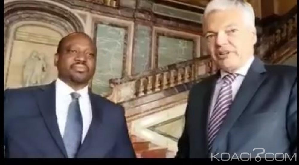 Côte d'Ivoire: En mission à Bruxelles, voici les sujets abordés par Soro et le vice premier ministre Belge
