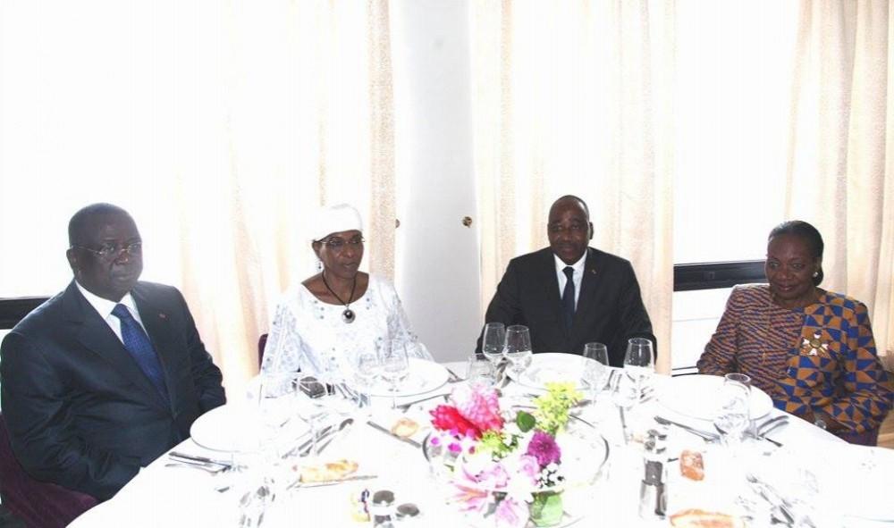 Côte d'Ivoire: Avant son départ, Aïchatou Mindaoudou élevée par Gon au grade de Commandeur de l'Ordre National