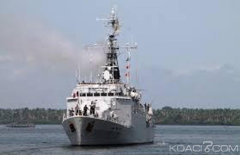 Côte d'Ivoire: La marine nationale a réceptionné un quatrième navire de guerre en provenance de la Chine