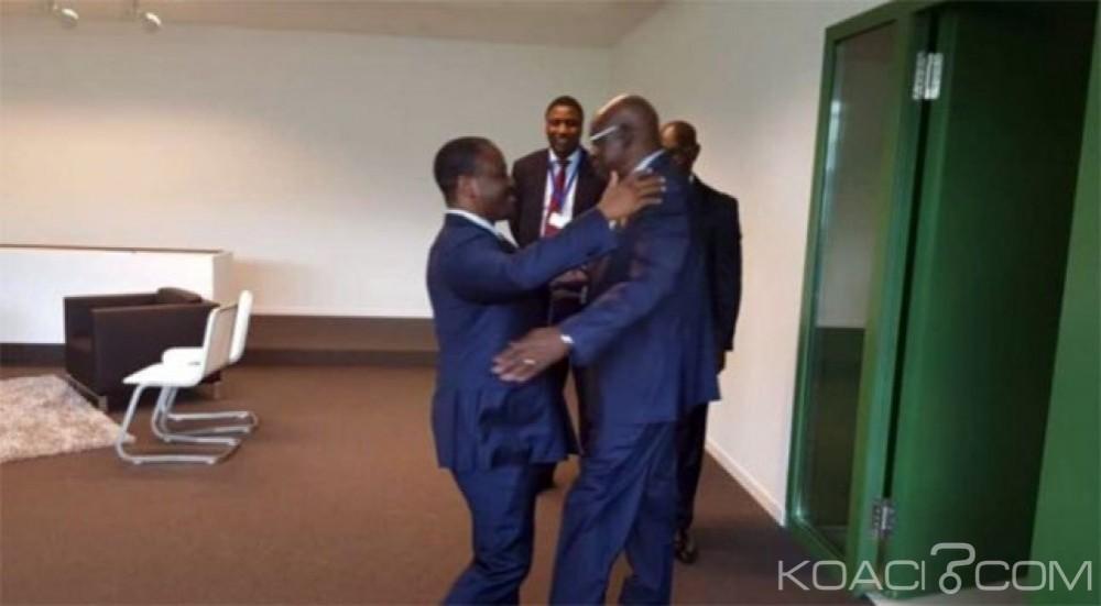 Burkina Faso - Côte d'ivoire: Rencontre inédite entre Guillaume Soro et Salifou Diallo à Luxembourg