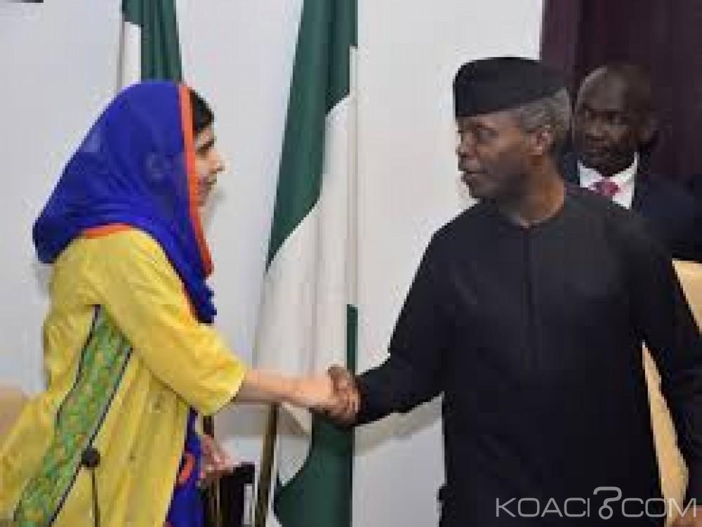 Nigeria:  La pakistanaise Malala rencontre  les lycéennes de Chibok