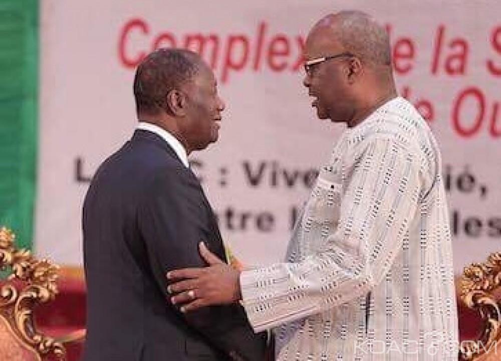 Côte d'Ivoire-Burkina Faso: Ouatttara demande à Kaboré de sortir les dossiers de Soro