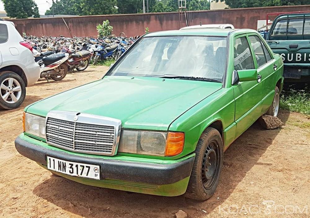 Burkina Faso: Ils usaient de leur taxi pour dépouiller leurs clients