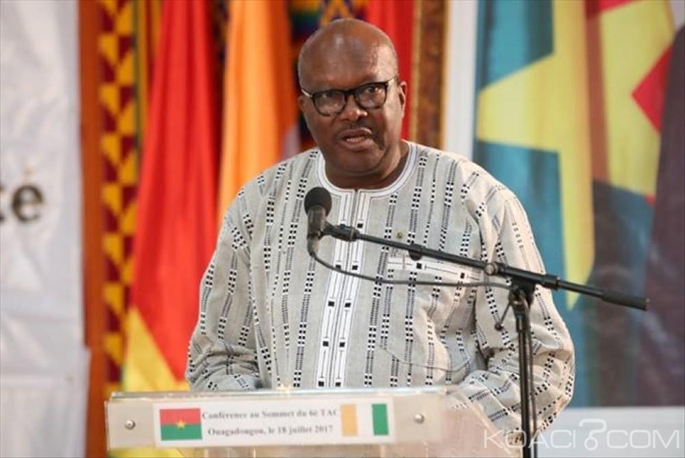 Burkina Faso: Le président Kaboré à Abidjan pour les jeux de la francophonie