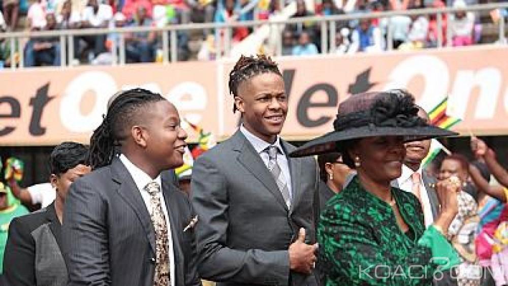 Afrique du sud:  Deux fils de Mugabe expulsés de leur luxueux appartement après une bagarre