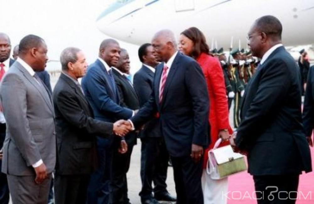 Angola: Le président dos Santos de retour  au bercail après un voyage en Espagne