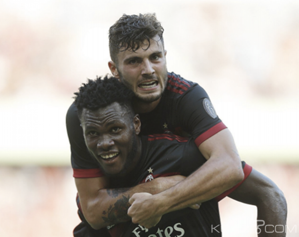 Côte d'Ivoire: Franck Kessié buteur avec le Milan AC en amical face au Bayern