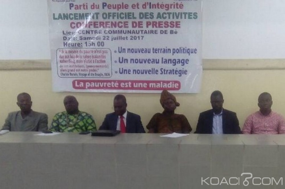 Togo:  Lancement du PPI, un nouveau parti politique, avec ses priorités