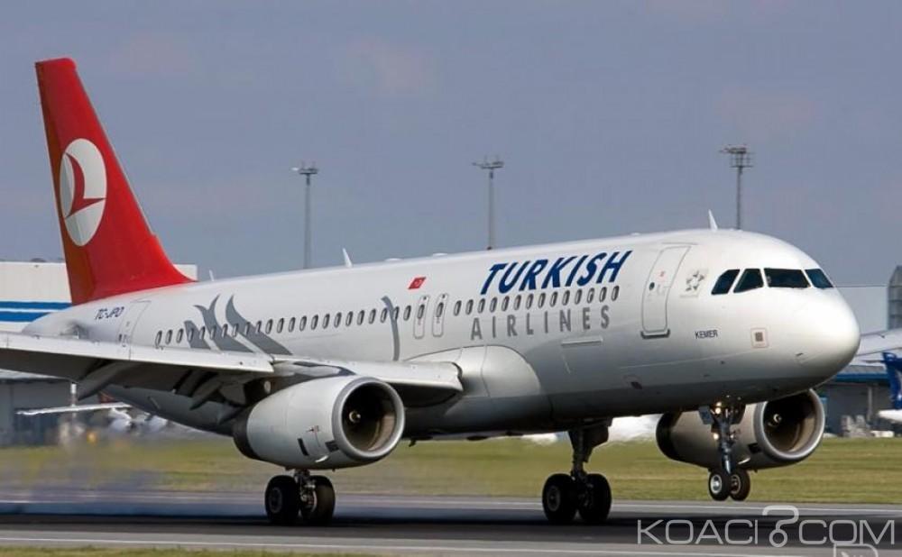 Algérie: Un avion de Turkish Airlines atterri  d'urgence à Alger après une alerte à la bombe