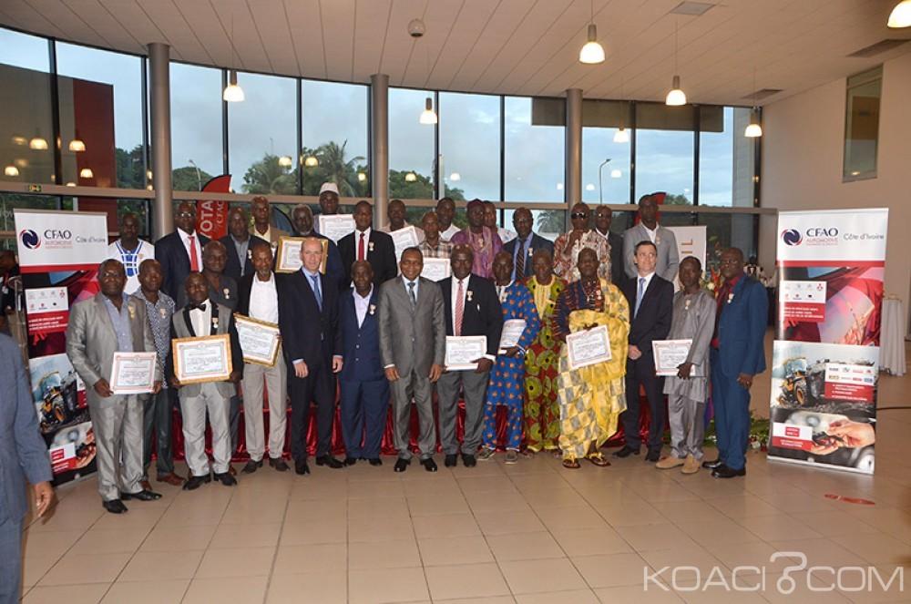 Côte d'Ivoire: Décoration chez CFAO, le Groupe reconnaît le mérite de ses employés