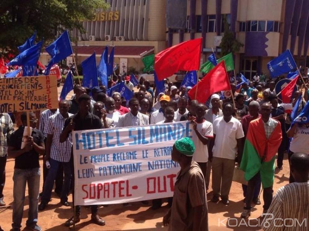 Burkina Faso: Manifestation à Ouagadougou contre des «licenciements abusifs»