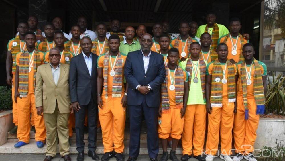 Côte d'Ivoire: Jeux de la francophonie, la FIF honore les Eléphanteaux pour leur parcours honorable