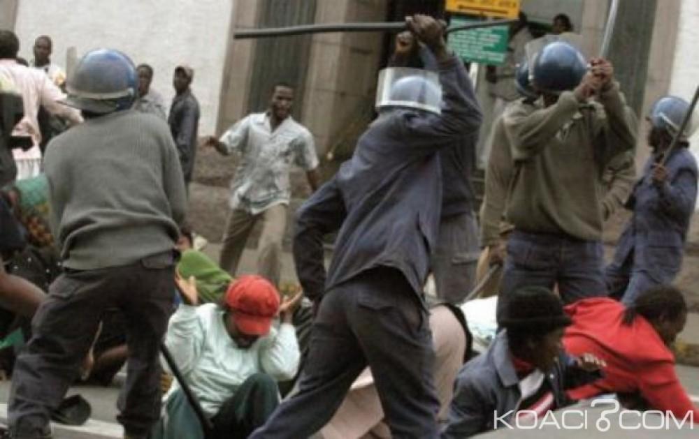 Zimbabwe:  Une  bagarre éclate  entre policiers et soldats à Harare