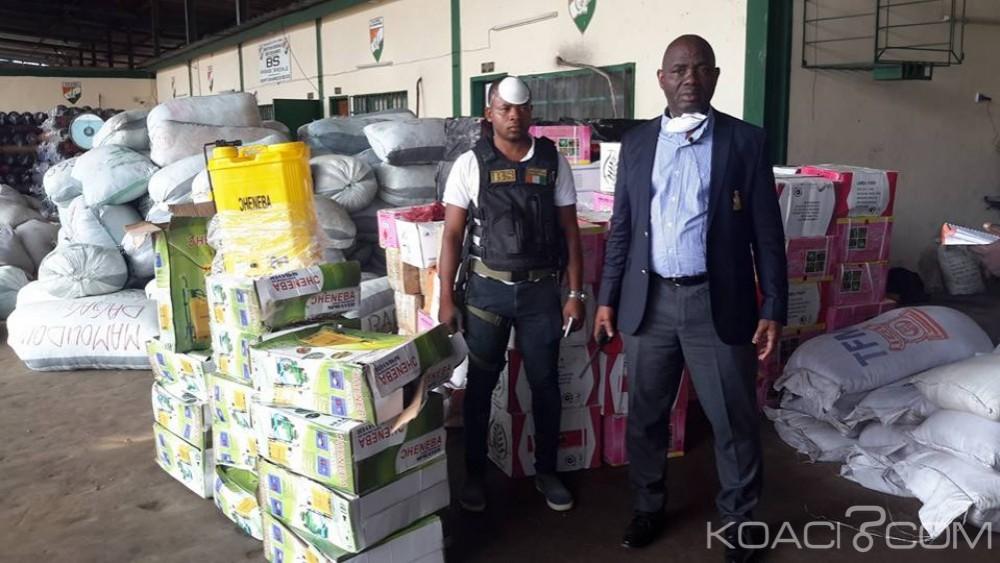 Côte d'Ivoire : Yopougon, la douane fait d'importantes saisies de produits non déclarés