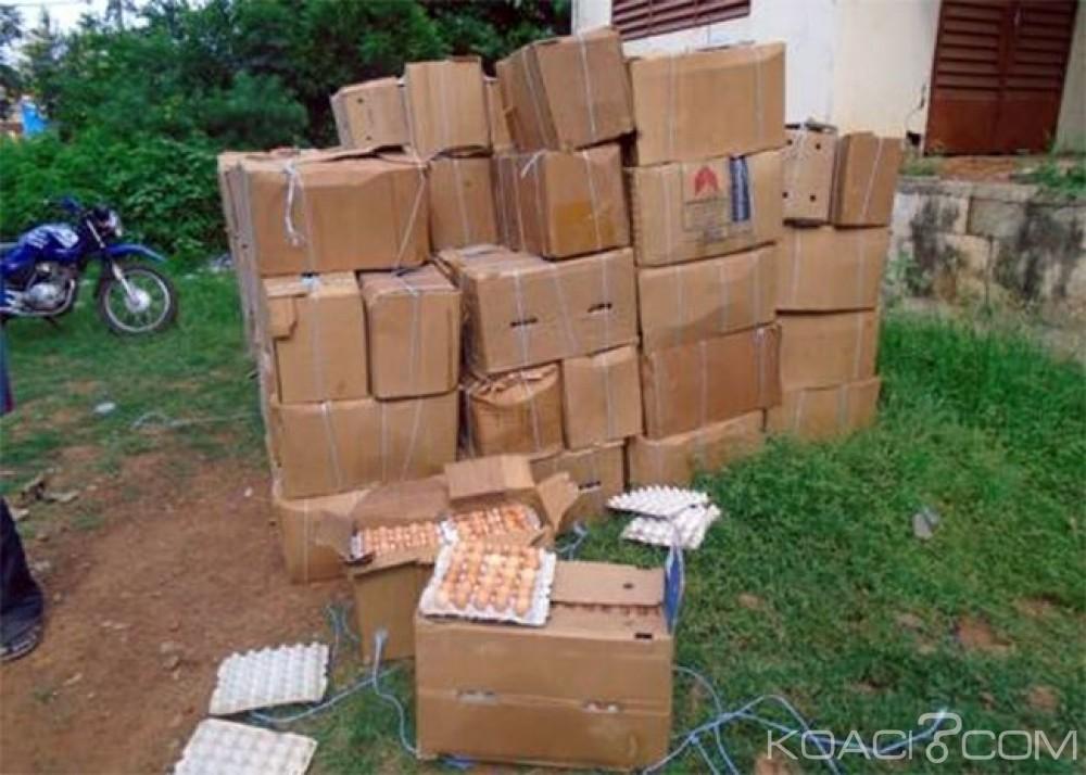 Burkina Faso: Plus de 84 000 œufs en provenance de la Côte d'ivoire saisis à Diébougou
