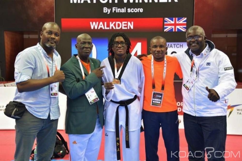 Côte d'Ivoire: Taekwondo, Ruth Gbagbi se pare à nouveau de l'Or à Moscou