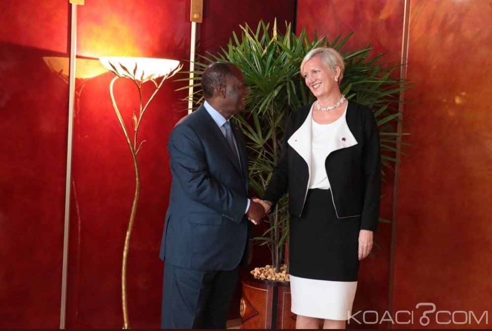 Côte d'Ivoire : En fin de mission, l'Ambassadrice du Canada fait ses adieux à Ouattara