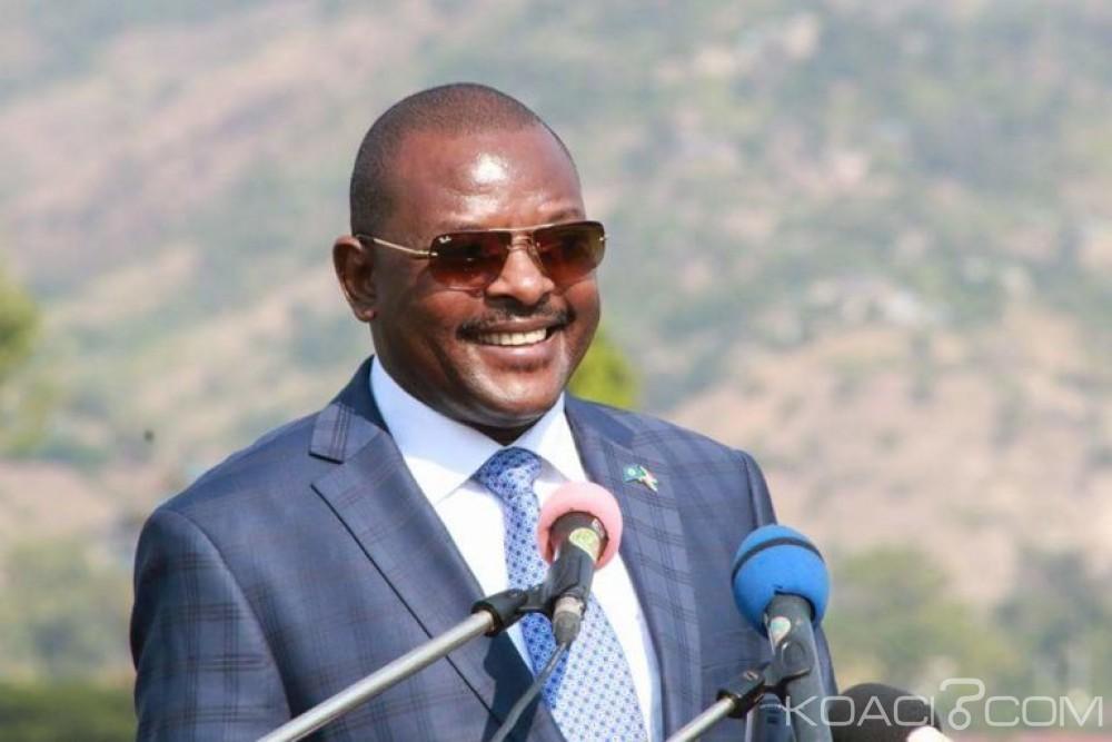 Burundi :Pour les élections de 2020, Nkurunziza encourage ses concitoyens « à mettre la main à la poche  »