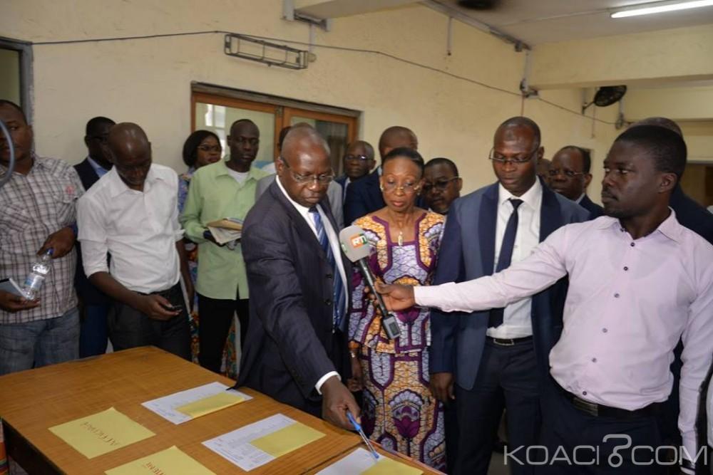 Côte d'Ivoire: Oraux du BTS, Ly Ramata s'enquiert du déroulement des épreuves