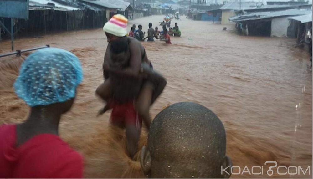 Sierra Léone: Inondations à Freetown, le bilan monte à 312 morts selon la croix rouge