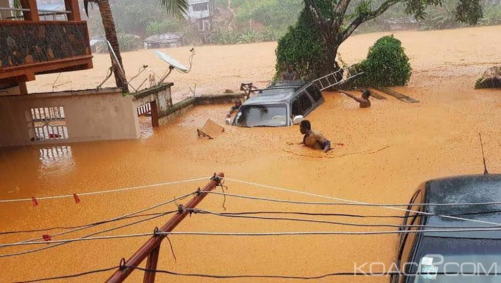 Sierra Léone: Coulée de boue à Freetown, le bilan s'alourdit à 400 morts selon la croix rouge