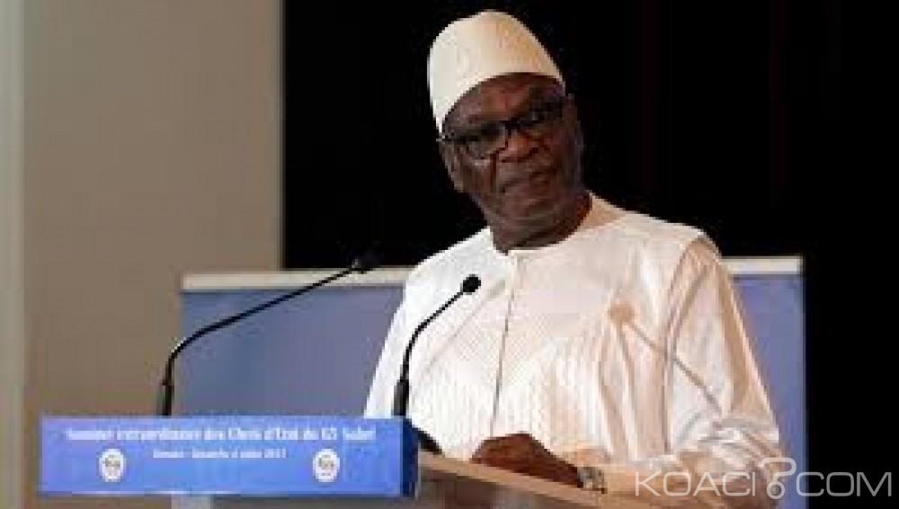 Mali : IBK renonce  en direct à son projet de  révision constitutionnelle
