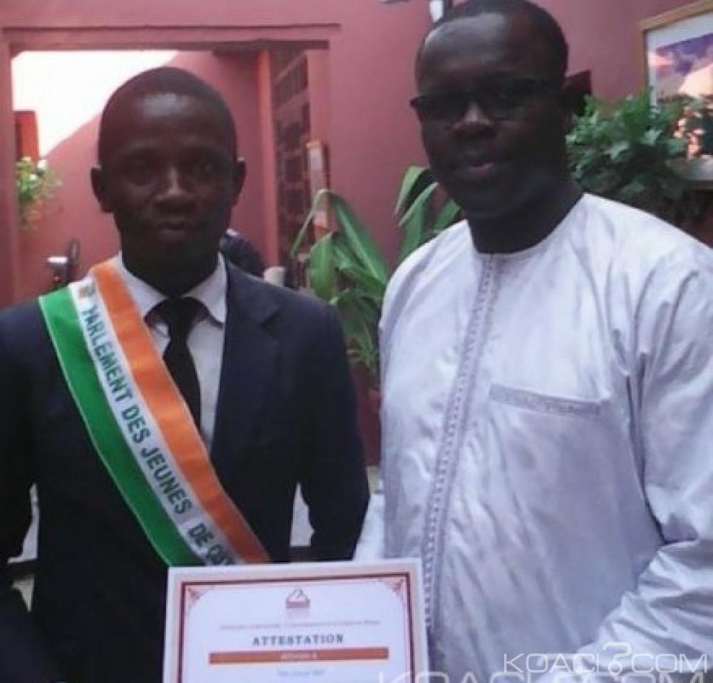 Côte d'Ivoire:  Le  président national du  parlement des jeunes de Côte d'Ivoire fait le point de sa mission du Sénégal