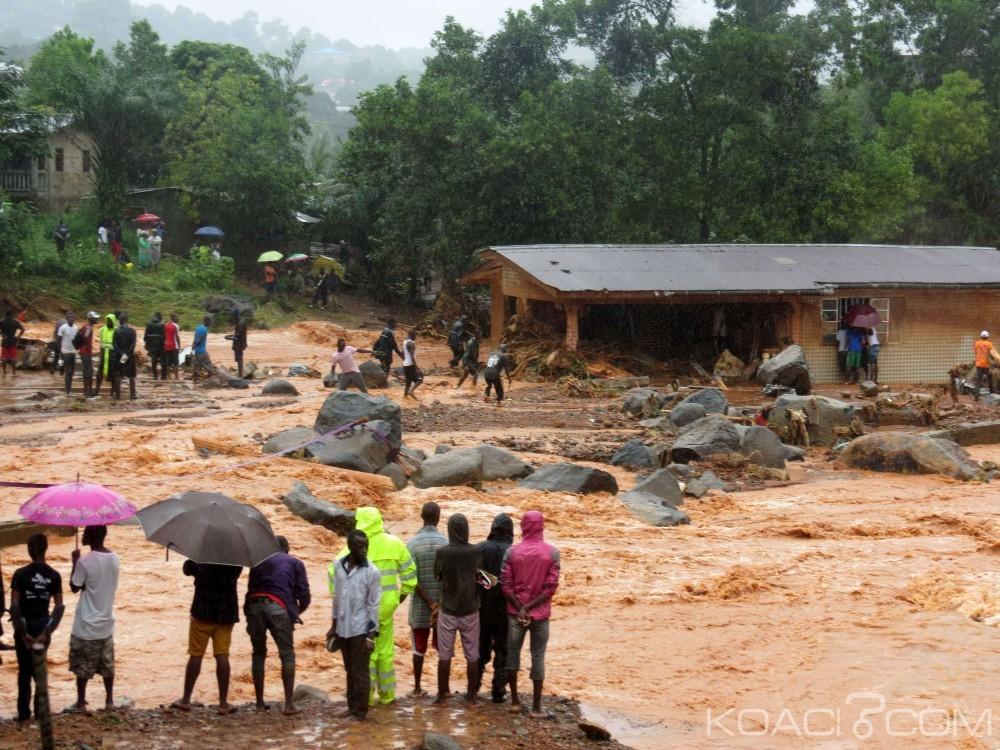 Sierra Léone: Près de 500 morts après une coulée de boue spectaculaire à Freetown, appel à l'aide