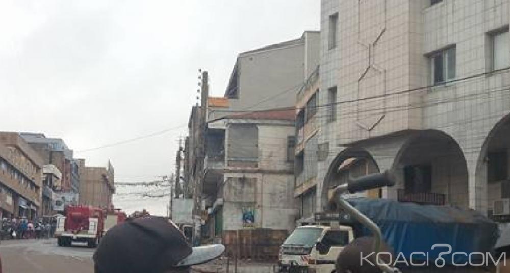 Cameroun:  Yaoundé, au moins 20 boutiques ravagées par les flammes dans un terrible incendie au marché central